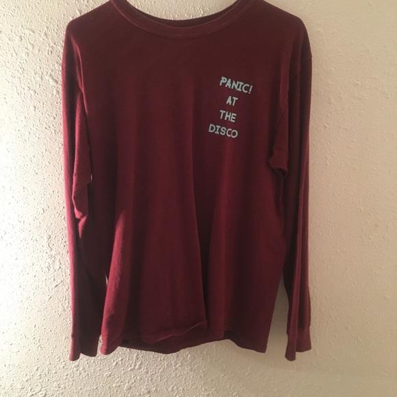 Tops Panic At The Disco Long Sleeve Shirt Merch Poshmark